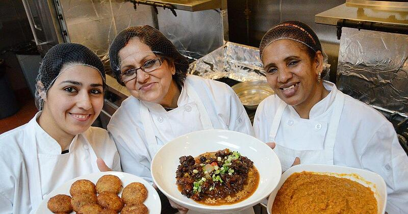 Eat Offbeat exclusively employs refugees living in New York